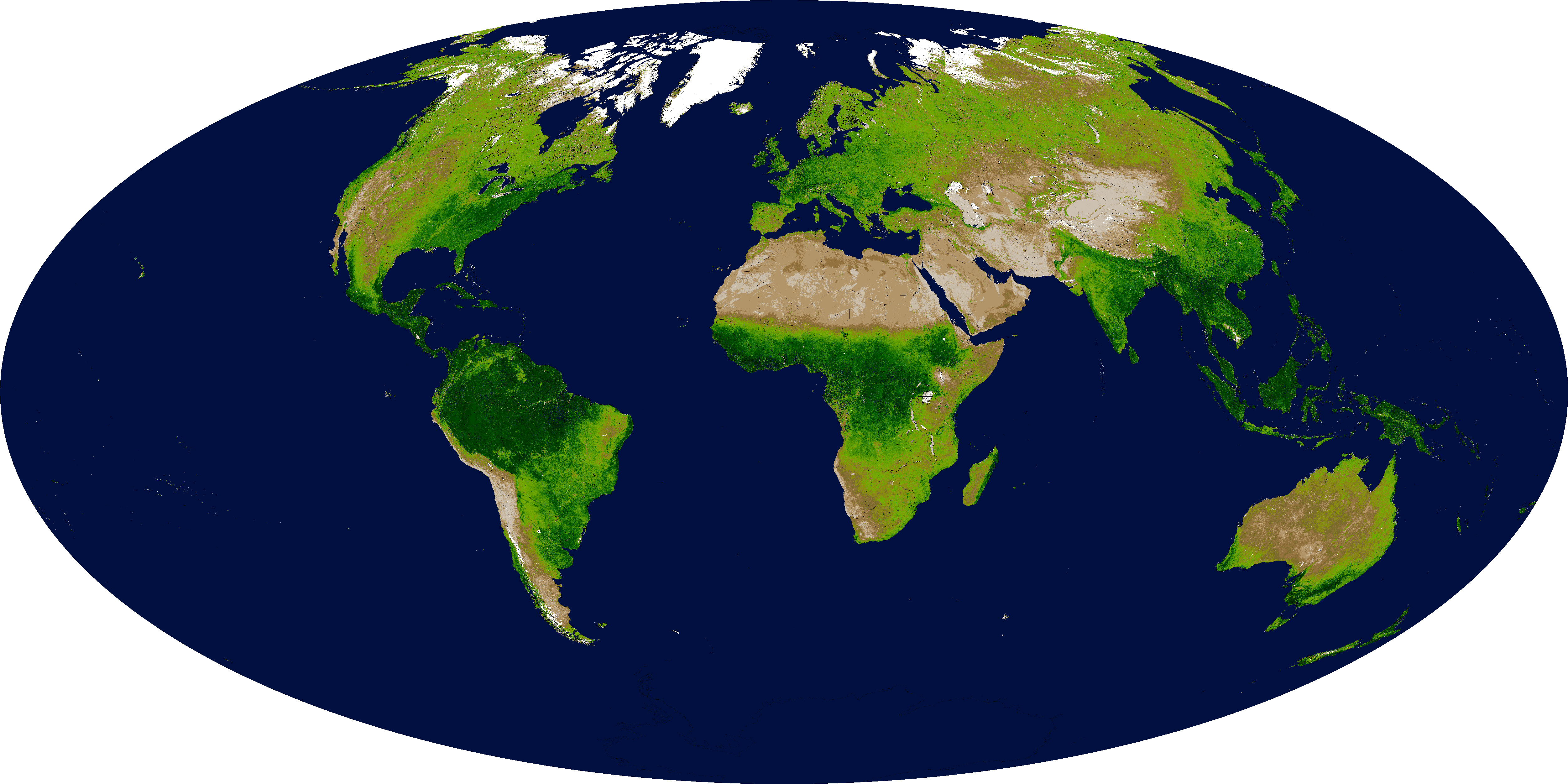 Global Enhanced Vegetation Index - related image preview