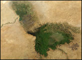 Lake Chad and the Sahel