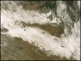 Early Snowstorm Sweeps Across Northern Plains