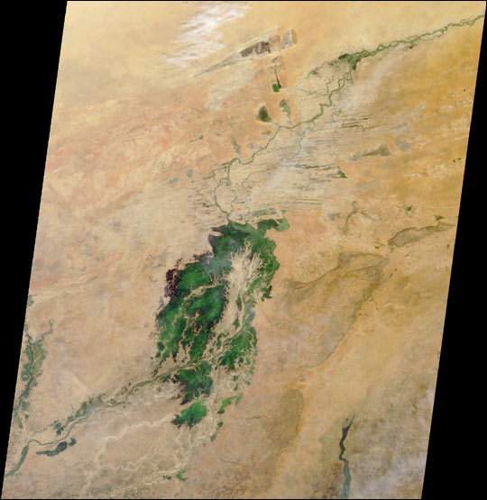 Where on Earth...? MISR Mystery Image Quiz #4 - related image preview