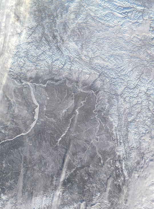 The Verkhoyansk Mountains
