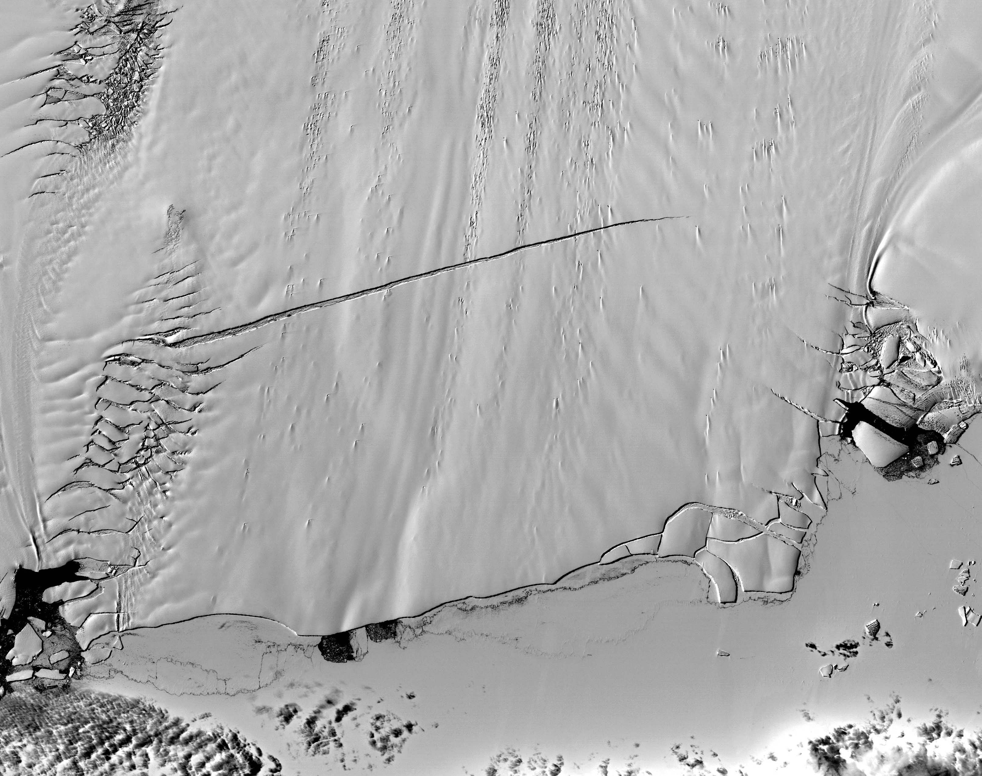 High Resolution View of Pine Island Glacier - related image preview