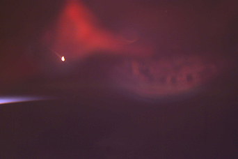 Red Aurora as Seen from the Space Station - related image preview