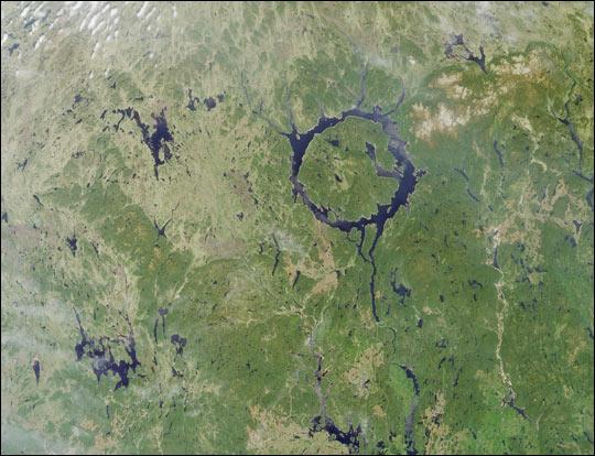 Manicouagan Impact Structure, Quebec