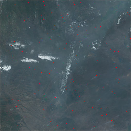 Fires in Central and Southern Africa - related image preview