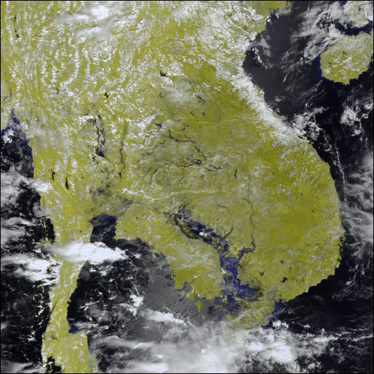 Flooding in Indochina