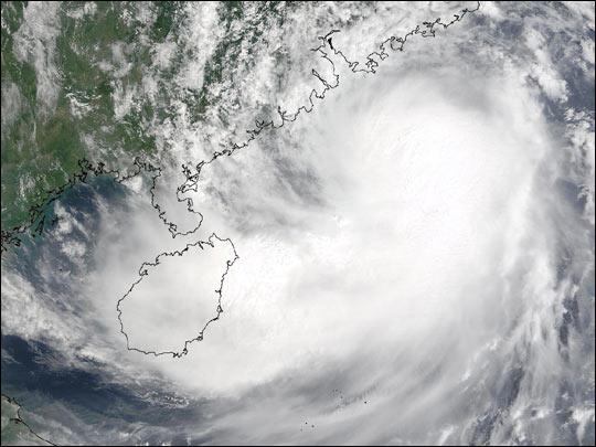 Tropical Storm Hagupit