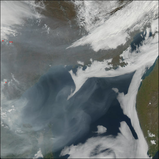 Fires and Smoke in Eastern Russia - related image preview