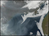 Fires and Smoke in Eastern Russia - selected image