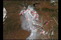 Fires and Smoke in Eastern Russia