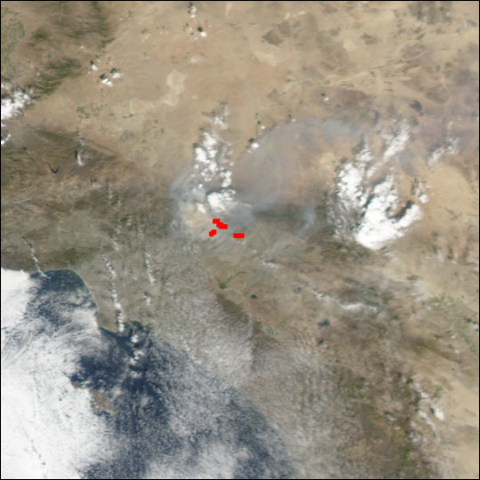 Williams Fire Northeast of Los Angeles - related image preview