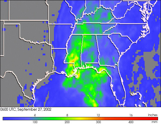 Isidore Dumps Heavy Rains on Southeastern U.S. - related image preview