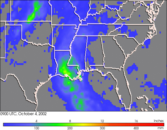 Hurricane Lili's Rainfall Footprint - related image preview