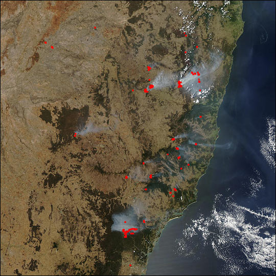 Fire Danger Extreme in New South Wales