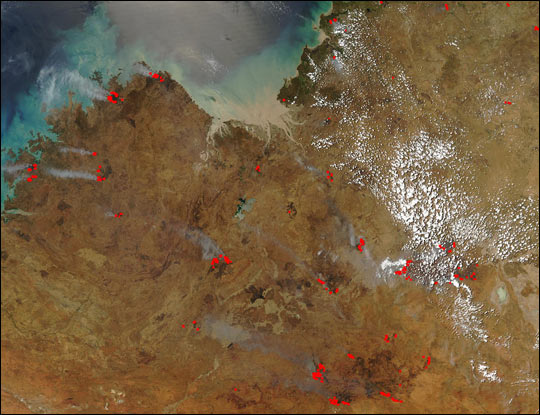 Fires Across Northwest Australia - related image preview