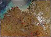 Fires Across Northwest Australia - selected image