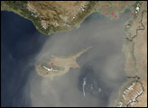 Dust Storm over Cyprus