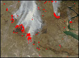 Burn Scars and Late-Season Fires in Kazakhstan - selected image