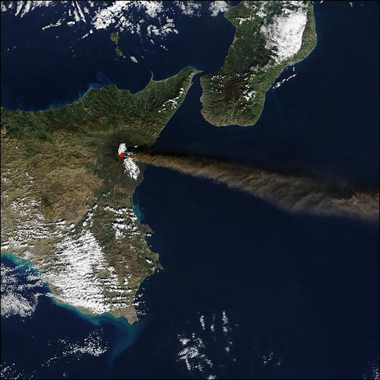 Eruption of Sicily's Mt. Etna - related image preview