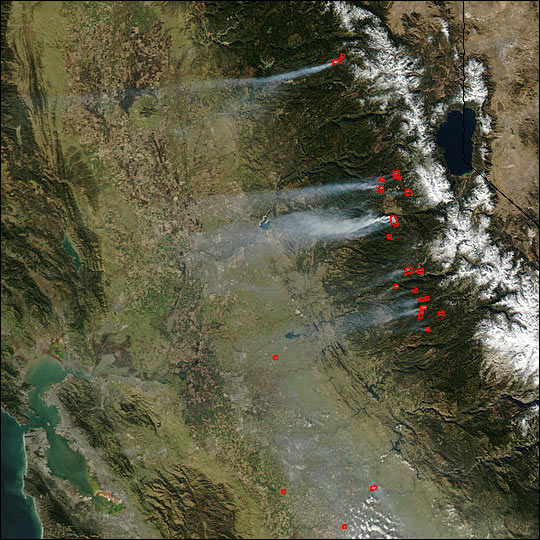 Late Season Fires in California