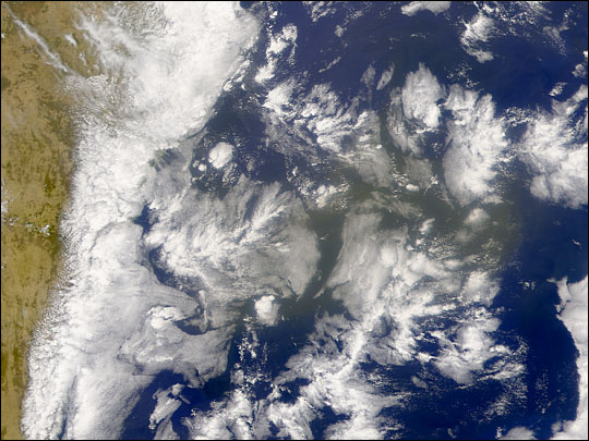 Brown Cloud off of Australia - related image preview