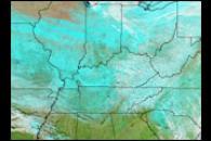 Snowstorm Rolls Across the U.S.