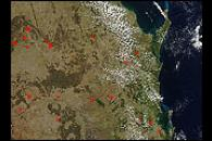 Biomass Burning in Eastern Australia