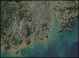 Fires in Southern China