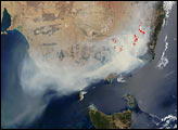 Bushfires Raging in Southeast Australia