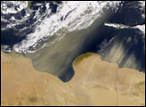 Dust Storm off Egypt - selected image
