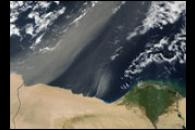 Dust Storm off Egypt