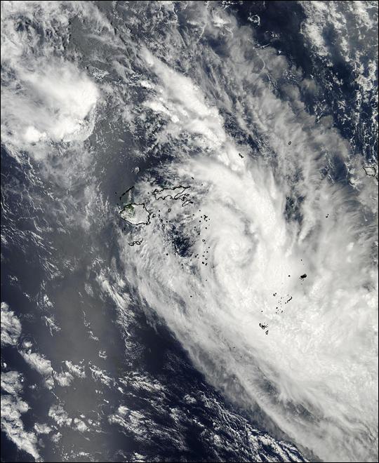 Tropical Cyclone Cilla