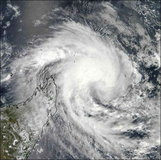 Cyclone 16S off Madagascar