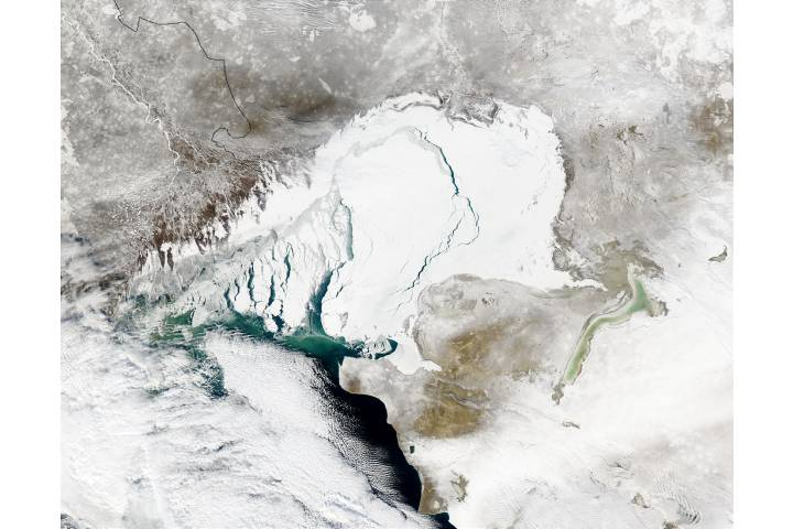 Caspian Sea - selected image