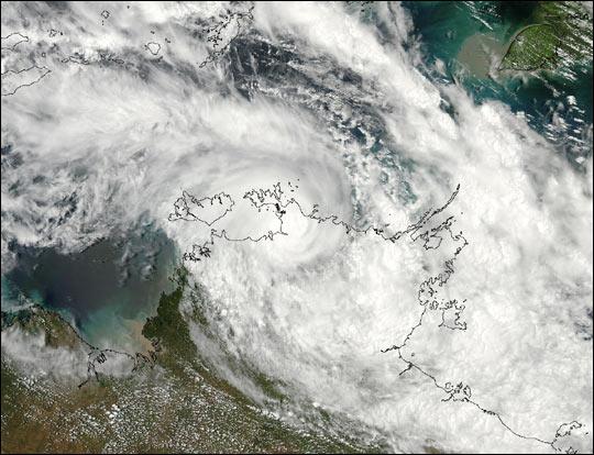 Tropical Cyclone Craig Hits Northern Territory