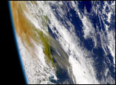 Dust Storm Strips Away Australian Topsoil