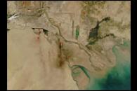 Oil Fires in Iraq