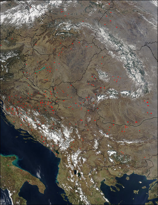 Fires in the Balkans - related image preview