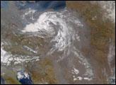 Haze over Europe