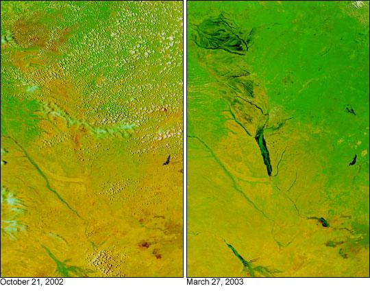 Flooding in Zambia