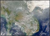 Smoke Blankets Southeast Asia