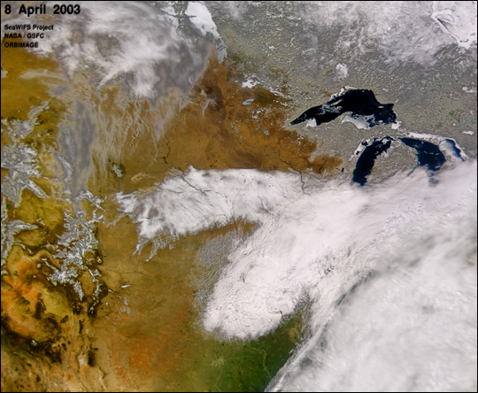 Midwest Snow Storm