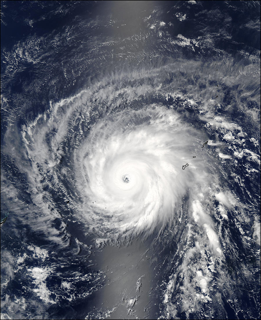 Tropical Cyclone Kujira