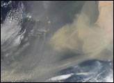 Dust Storm over Mauritania