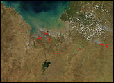 Fires in Northwest Australia