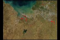 Fires in Northwest Australia