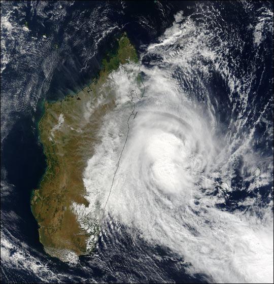 Tropical Cyclone Manou hits Madagascar