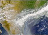 Smoke from Yucatan Fires Reaches Gulf Coast States