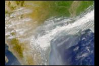 Smoke from Yucatan Fires Reaches Gulf Coast States