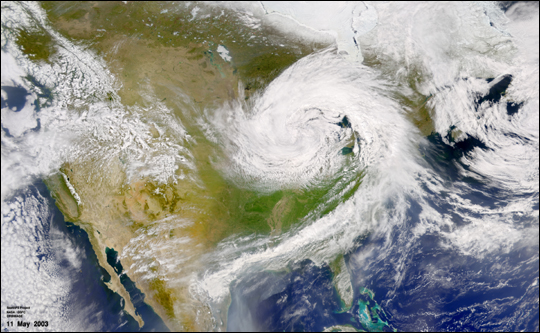 U.S. Low Pressure System